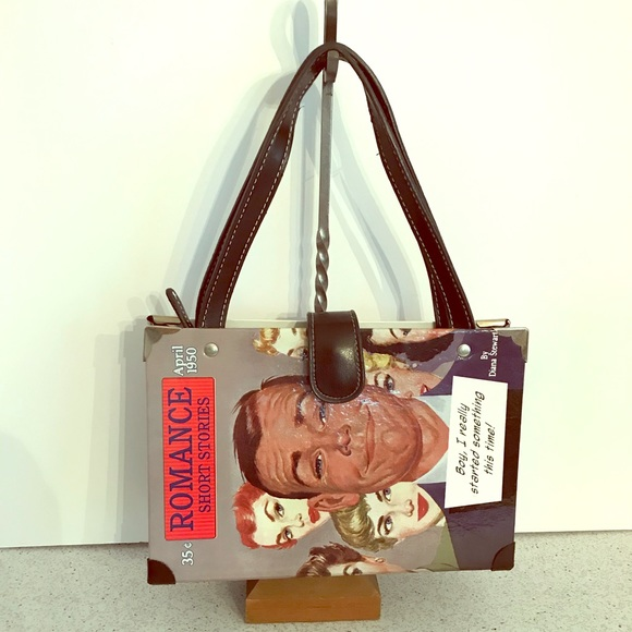 Magazine Book Cover purse